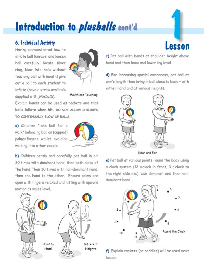 Plusballs Lesson 1b